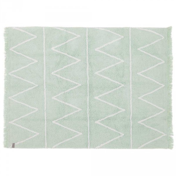 Lorena Canals Teppich Hippy mint