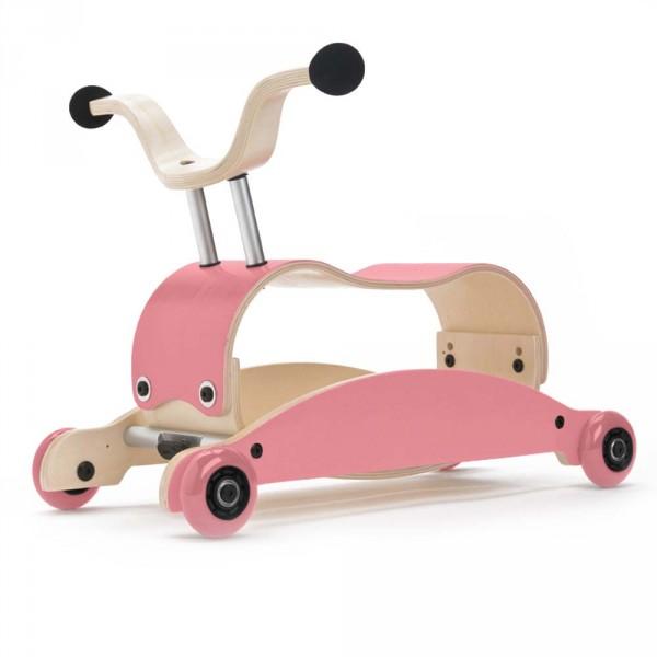 Wishbone Rutschfahrzeug Mini Flip pink