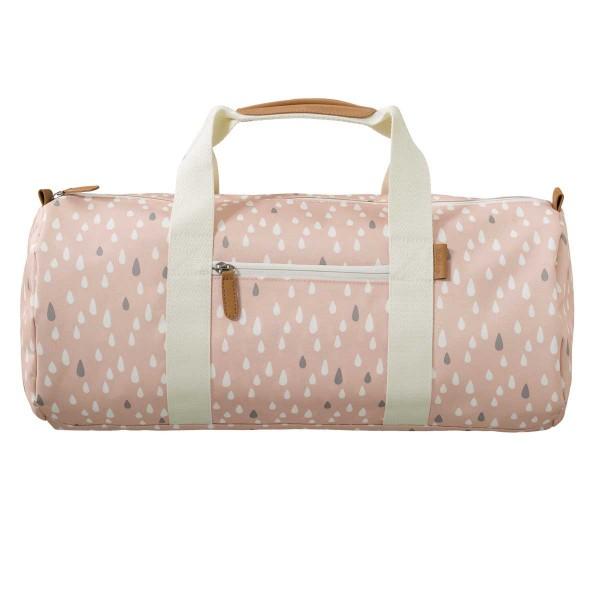 Fresk kleine Reisetasche Tropfen rosa
