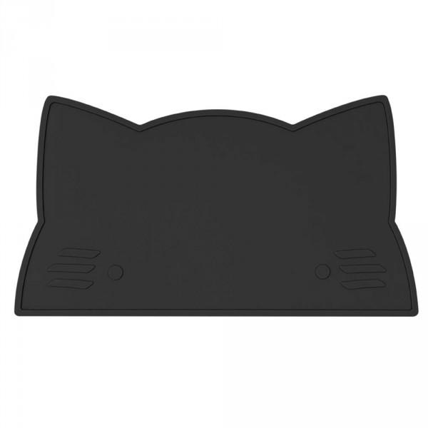 We Might Be Tiny Kinder Tischset Silikon Katze schwarz