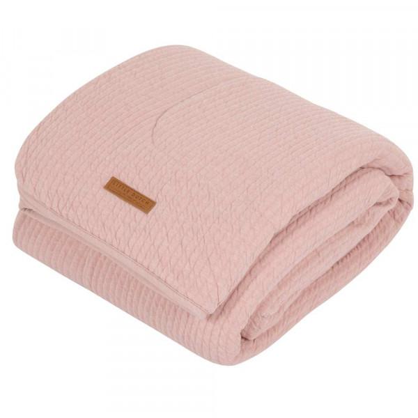 """Little Dutch Baby Kuscheldecke uni rosa """"Pure Pink"""""""
