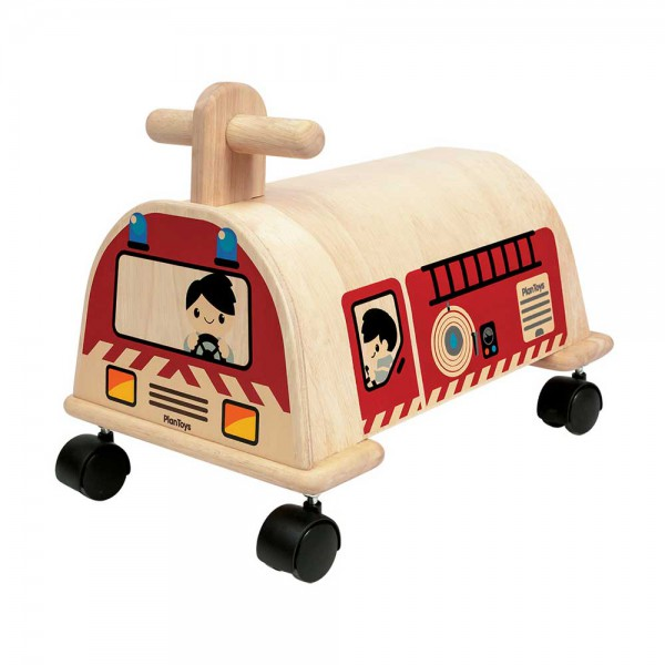 Plan Toys Feuerwehr Holz natur
