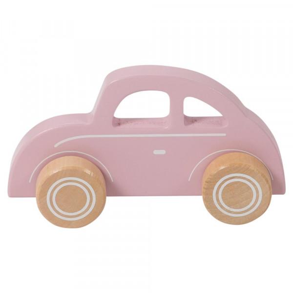 Little Dutch Holz Spielzeugauto rosa