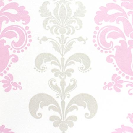 Esta home tapete ornament rosa bei kinder r ume for Ornament tapete rosa