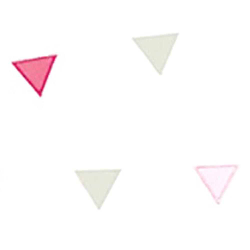 Casadeco alice paul stoff zirkus wimpel rosa braun pink bei kinder r ume - Wimpel babyzimmer ...