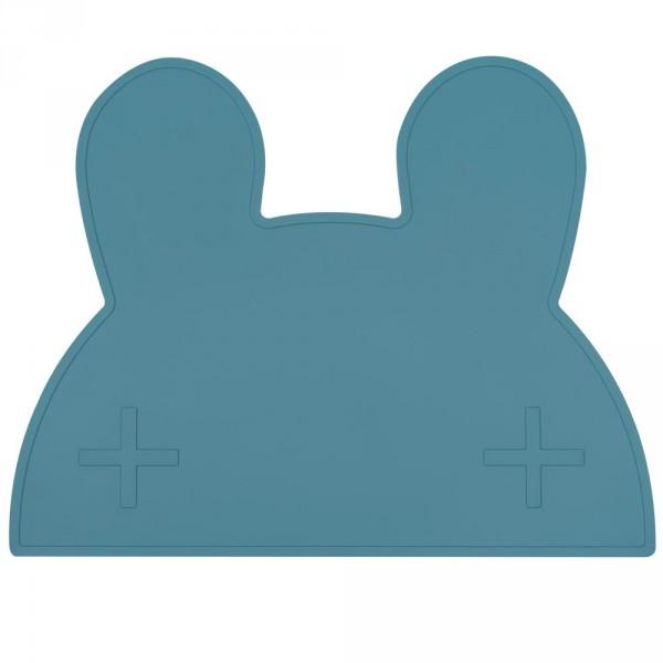 We Might Be Tiny Kinder Tischset Silikon Hase dunkelblau