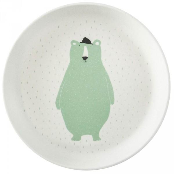 Trixie Bambus Teller Eisbär Mr. Polar Bear