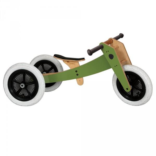 Wishbone Dreirad / Laufrad 3 in 1 grün