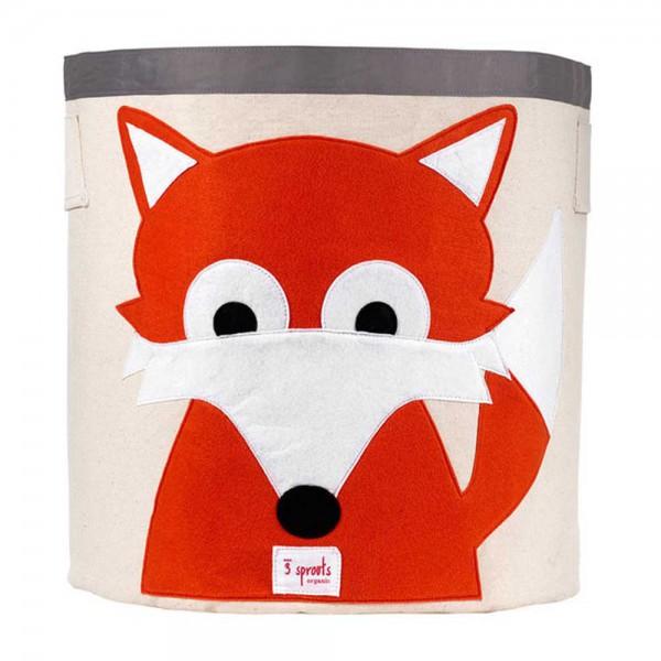3 Sprouts Aufbewahrungskorb Fuchs