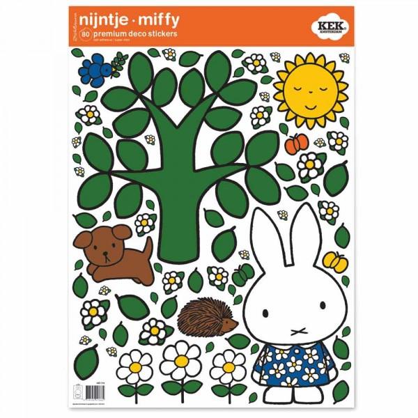 Kek Amsterdam Sticker groß Miffy & Baum
