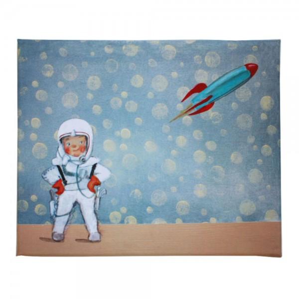 Kinderbild Raketen Finn