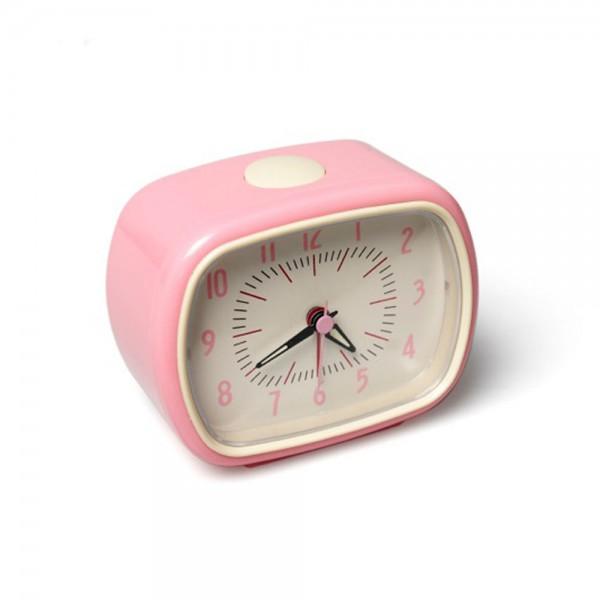 Rexinter Retro Kinderwecker pink