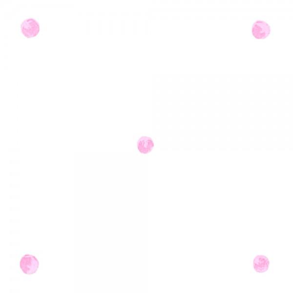 Little Sanderson Abracazoo Tapete Punkte pink