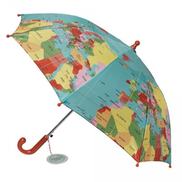 Rexinter Regenschirm Weltkarte