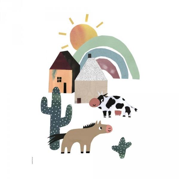 I Love My Type Poster wilder Westen