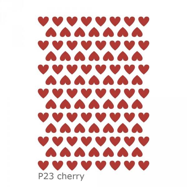 Lilipinso Wandsticker Basics Herzen