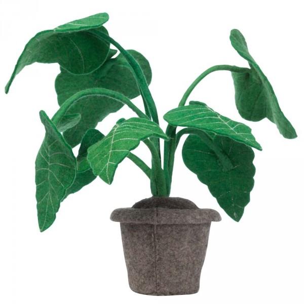 Kidsdepot Deko Pflanze Filz Alocasia