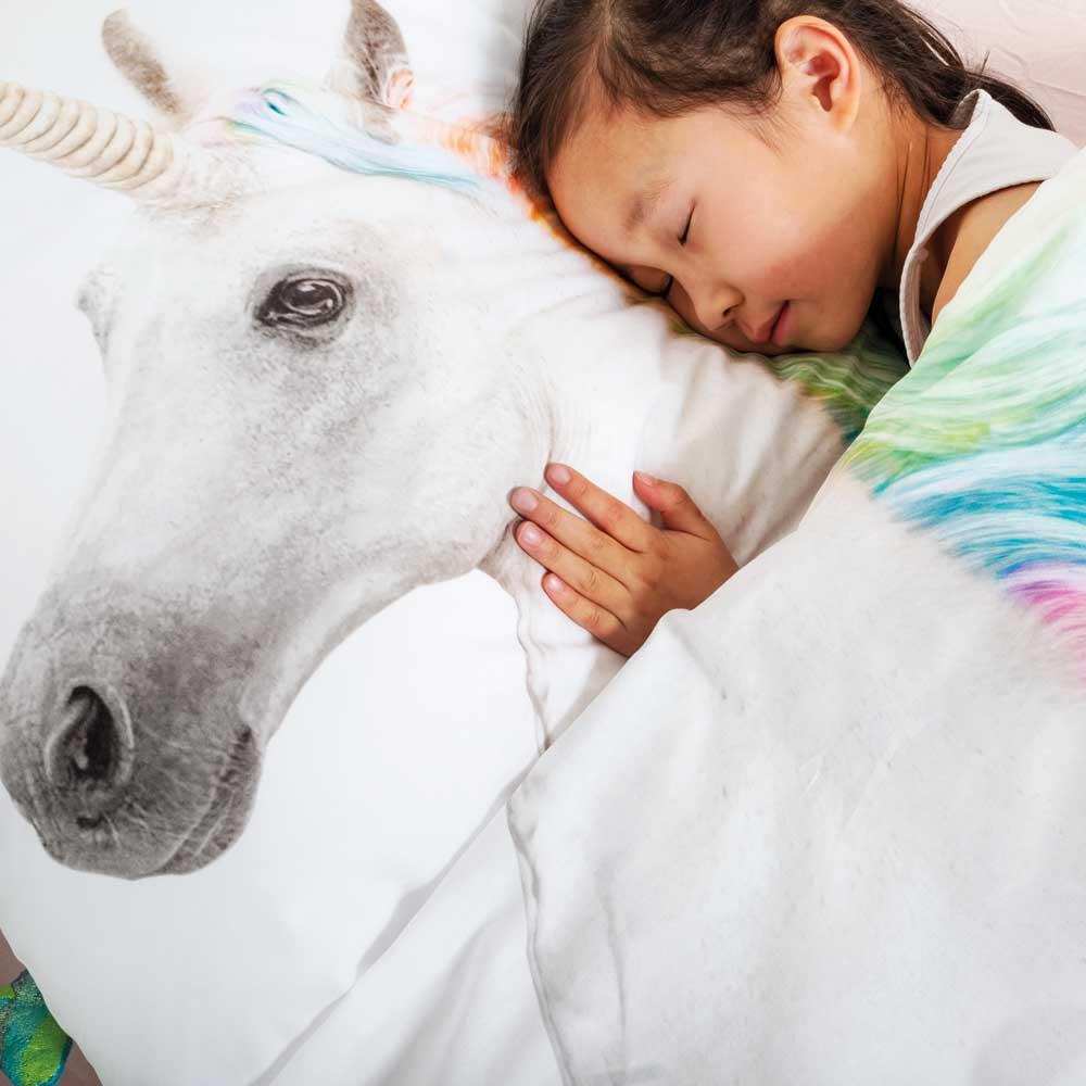 Snurk Bettwäsche Einhorn 135 x 200