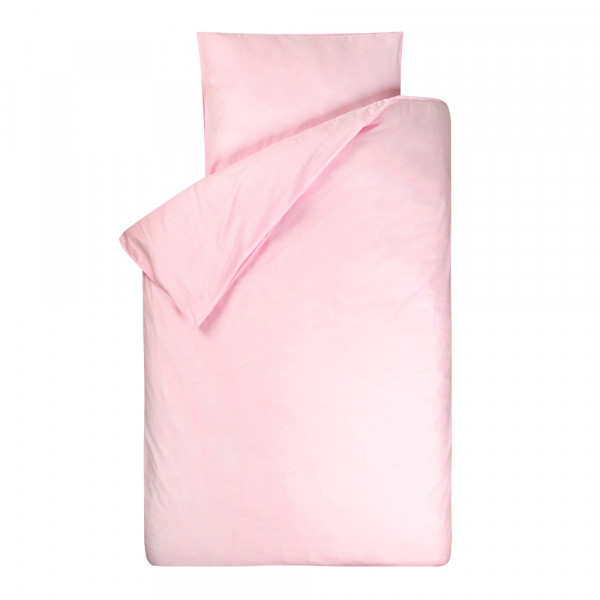 Bink Bettwäsche Bo uni rosa 135 x 200