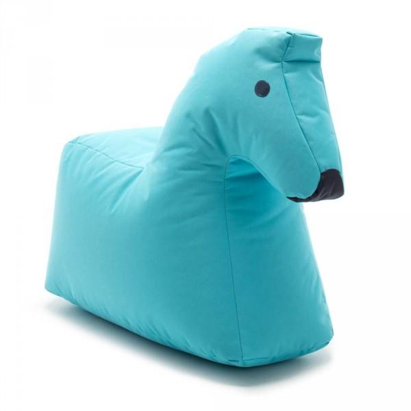 Sitting Bull Kinder Sitzsack Happy Zoo Pferd Lotte blau
