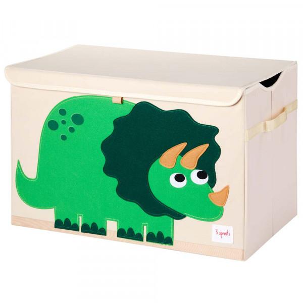 3 Sprouts Aufbewahrungskiste Deckel Dino