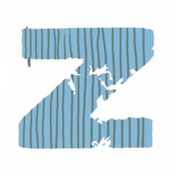 Lilipinso Sticker blau Buchstabe z