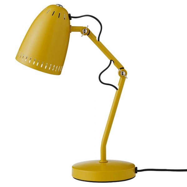 """Superliving Schreibtischlampe """"Dynamo 345"""" matt senfgelb"""