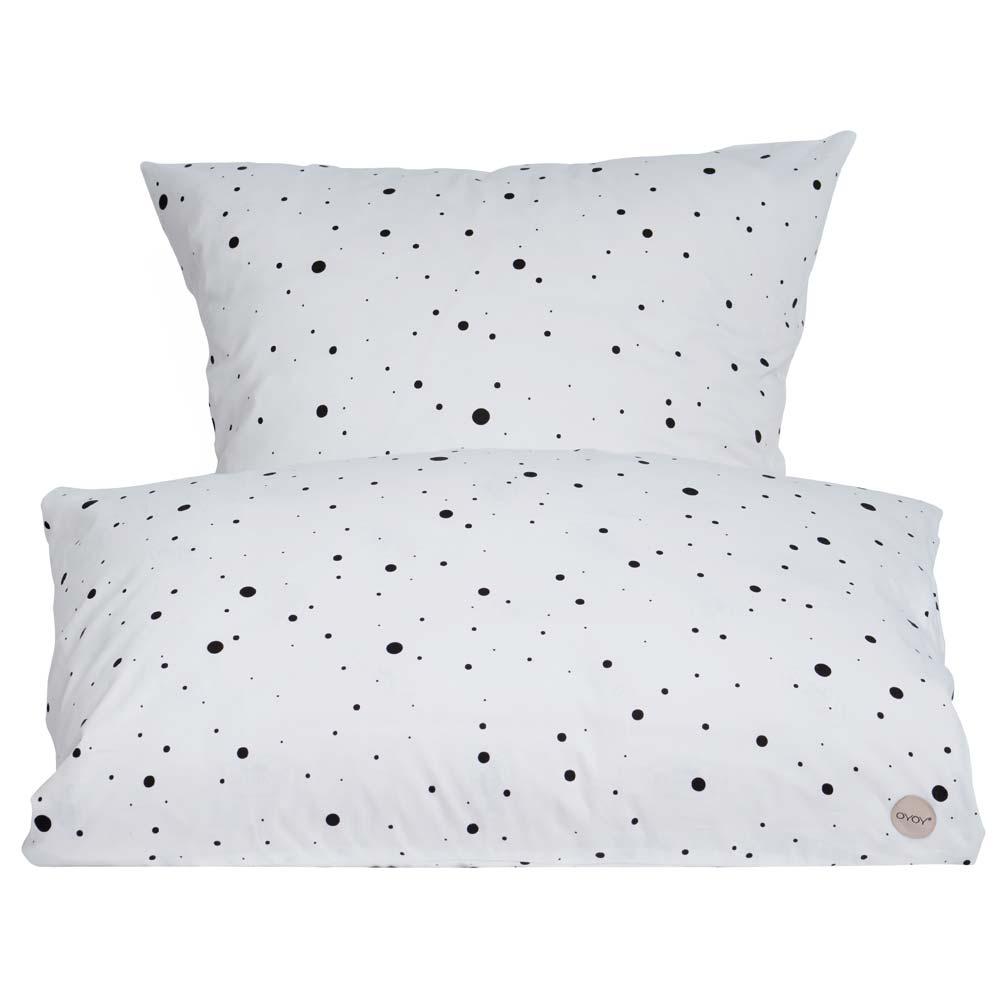 kinderbettw sche mit punkten im kinder r ume online shop kaufen kinder r ume. Black Bedroom Furniture Sets. Home Design Ideas