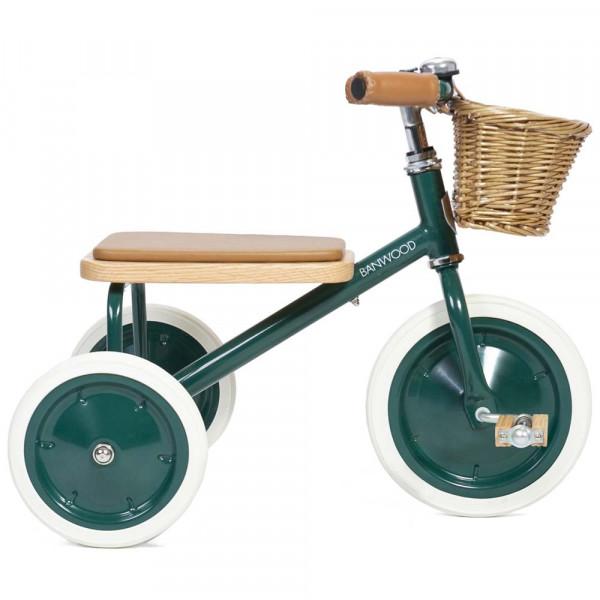 Banwood Kinder Dreirad grün