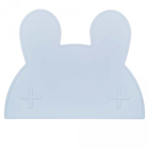 We Might Be Tiny Kinder Tischset Silikon Hase blau