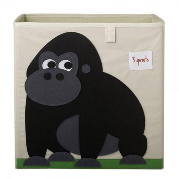 3 Sprouts Spielzeugkorb Gorilla