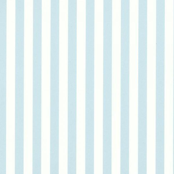 Casadeco Streifentapete blau weiss Jules & Julie