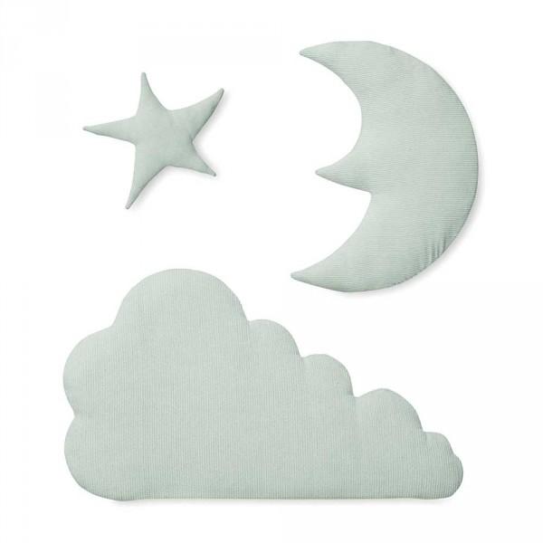 Cam Cam Wanddeko Nachthimmel mint