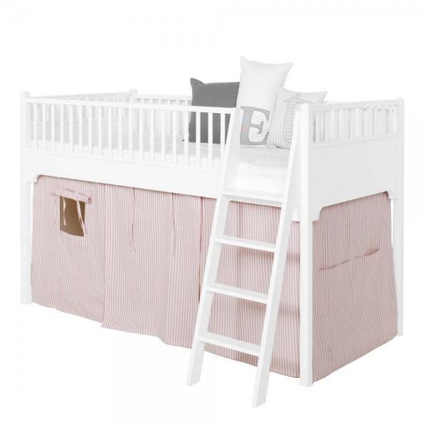 Oliver Furniture Vorhang rosa gestreift für halbhohes Bett
