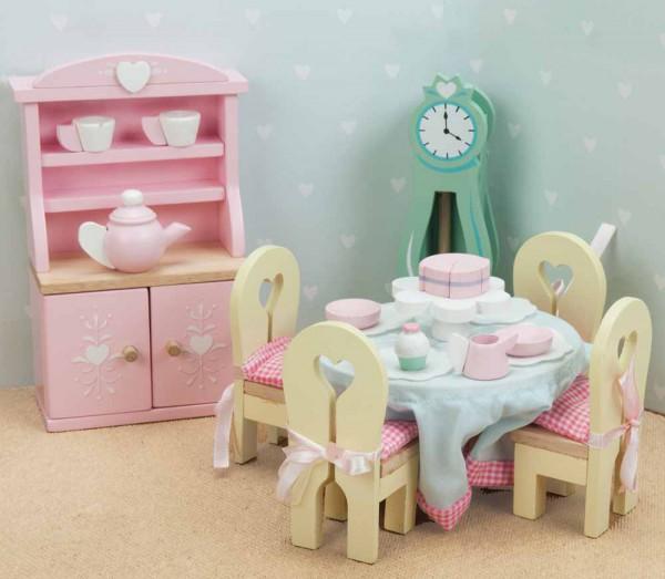 Le Toy Van Puppenhaus Zubehör Esszimmer Daisy Lane