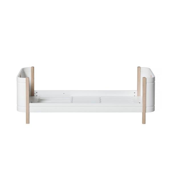 Oliver Furniture Wood Mini+ Umbauset halbhohes Etagenbett zu 2 Juniorbetten Eiche