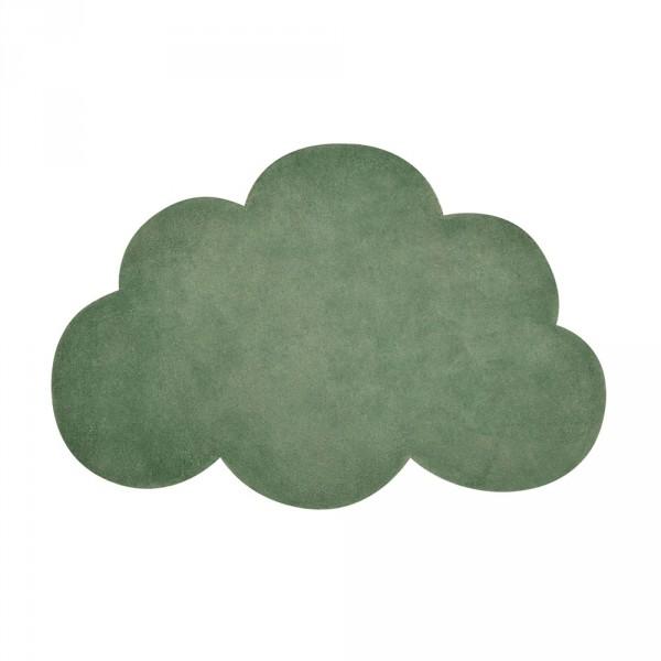 Lilipinso Teppich Wolke dunkelgrün