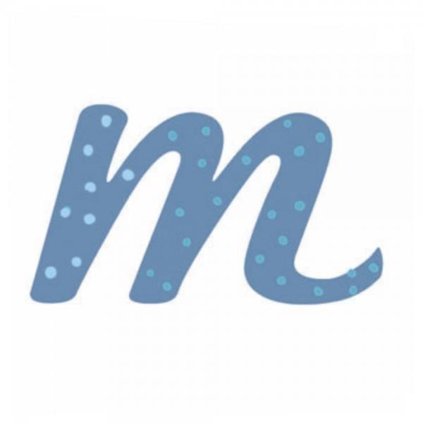 Lilipinso Sticker blau Buchstabe m