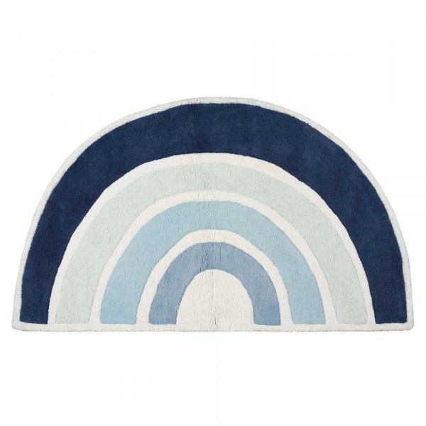 Lilipinso Teppich Regenbogen hellblau