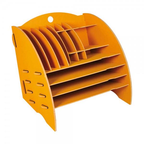 Werkhaus Schreibtisch Organizer gelb
