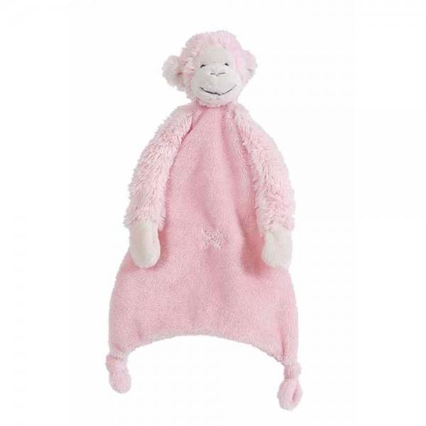 Happy Horse Baby Schmusetuch Affe Mickey rosa