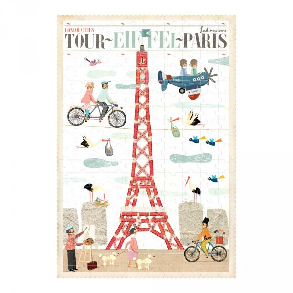 Londji Kinder Puzzle Paris