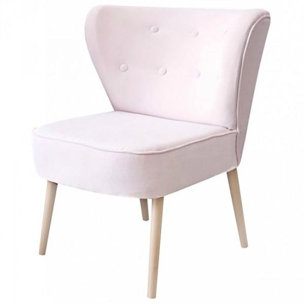 Caramella Kinderstuhl Scandi gepolstert rosa