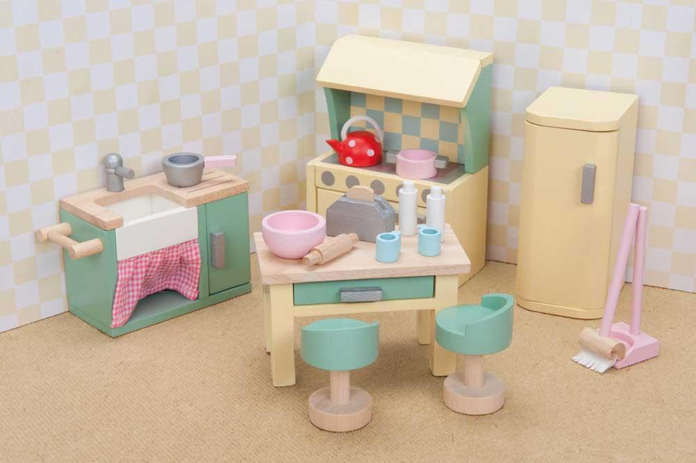 Kühlschrank Puppenhaus : Puppenstube puppenhaus küche kühlschrank holz neu eur