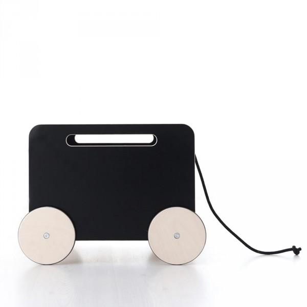 ooh noo Spielzeugkiste auf Rädern & Tafellack