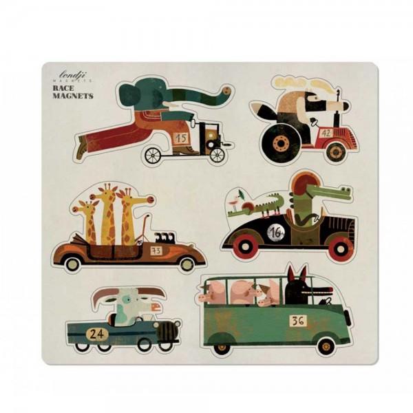 Londji Kinder Magneten Autos