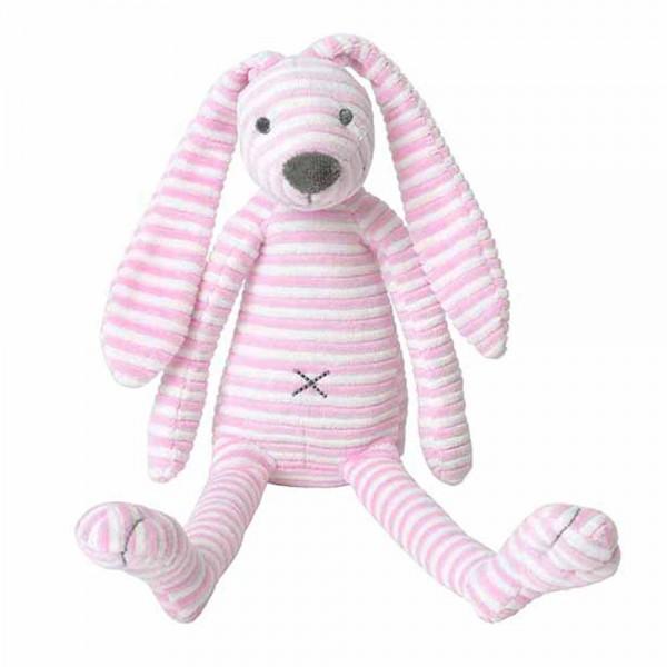 Happy Horse Kuscheltier Hase gestreift rosa