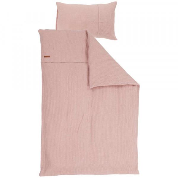 "Little Dutch Kinderbettwäsche uni rosa ""Pure Pink"" 100 x 135"