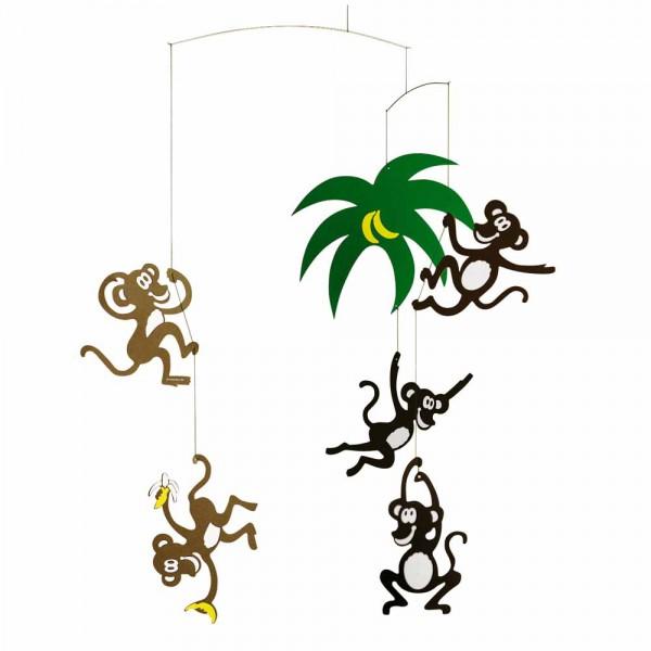 Flensted Mobile fröhliche Affen
