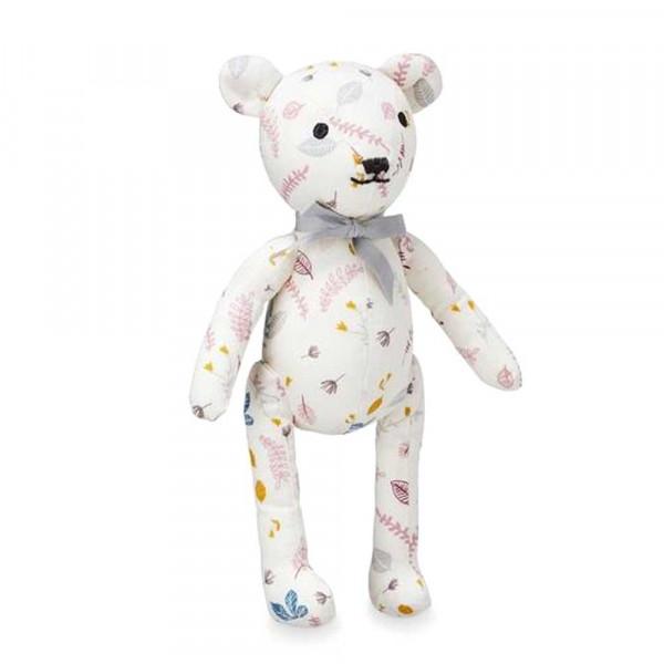 Cam Cam Baby Kuscheltier Teddy Blätter rosa